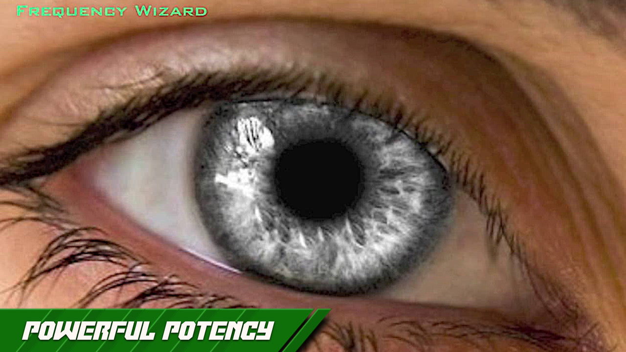 Get Ultra Silver Gray Eyes Fast! FREQUENCY WIZARD