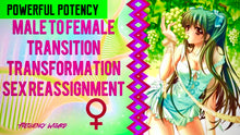Load image into Gallery viewer, NEW MALE TO FEMALE TRANSITION PART 1-R1 - TRANSGENDER REASSIGNMENT -MORE POWERFUL! NEW VERSION - FREQUENCY WIZARD