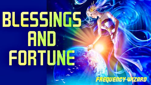 RECEIVE AMAZING BLESSINGS FROM ANGELS! FAST FORTUNE AND SUPER LUCK! 888hz - FREQUENCY WIZARD