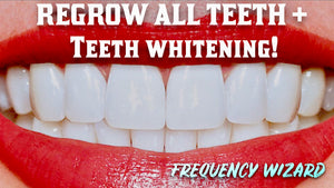 REGROW YOUR TEETH FAST! INCLUDING CHIPPED/BROKEN TEETH + EXTRA WHITENING EFFECT  POWERFUL SUBLIMINAL FREQUENCY WIZARD