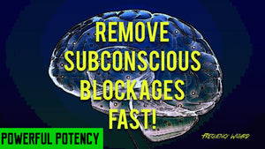 REMOVE SUBCONSCIOUS BLOCKAGES FAST! SUBLIMINAL ISOCHRONIC TONES FREQUENCIES HYPNOSIS BIOKINESIS - FREQUENCY WIZARD