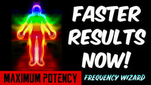 Load image into Gallery viewer, REMOVE ALL AURIC BLOCKAGES - GET FASTER RESULTS! ATTRACT WEALTH, LOVE, POSITIVE VIBES! FREQUENCY WIZARD