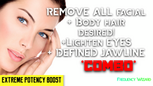 Load image into Gallery viewer, REMOVE UNWANTED FACIAL & BODY HAIR FAST + LIGHTEN EYES & GET DEFINED JAW LINE! *WORKS FOR MTF ALSO! - FREQUENCY WIZARD