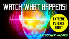 Load image into Gallery viewer, REPROGRAM YOUR MIND TO ATTRACT MASSIVE SUCCESS IN YOUR LIFE! GET READY TO CHANGE YOUR LIFE! FREQUENCY WIZARD
