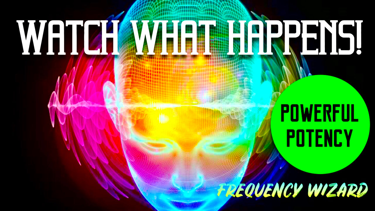 REPROGRAM YOUR MIND TO ATTRACT MASSIVE SUCCESS IN YOUR LIFE! GET READY TO CHANGE YOUR LIFE! FREQUENCY WIZARD