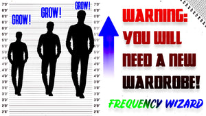 THE BEST GROW TALLER FORMULA EVER CREATED SO FAR! INCREASE YOUR HEIGHT FAST! - FREQUENCY WIZARD