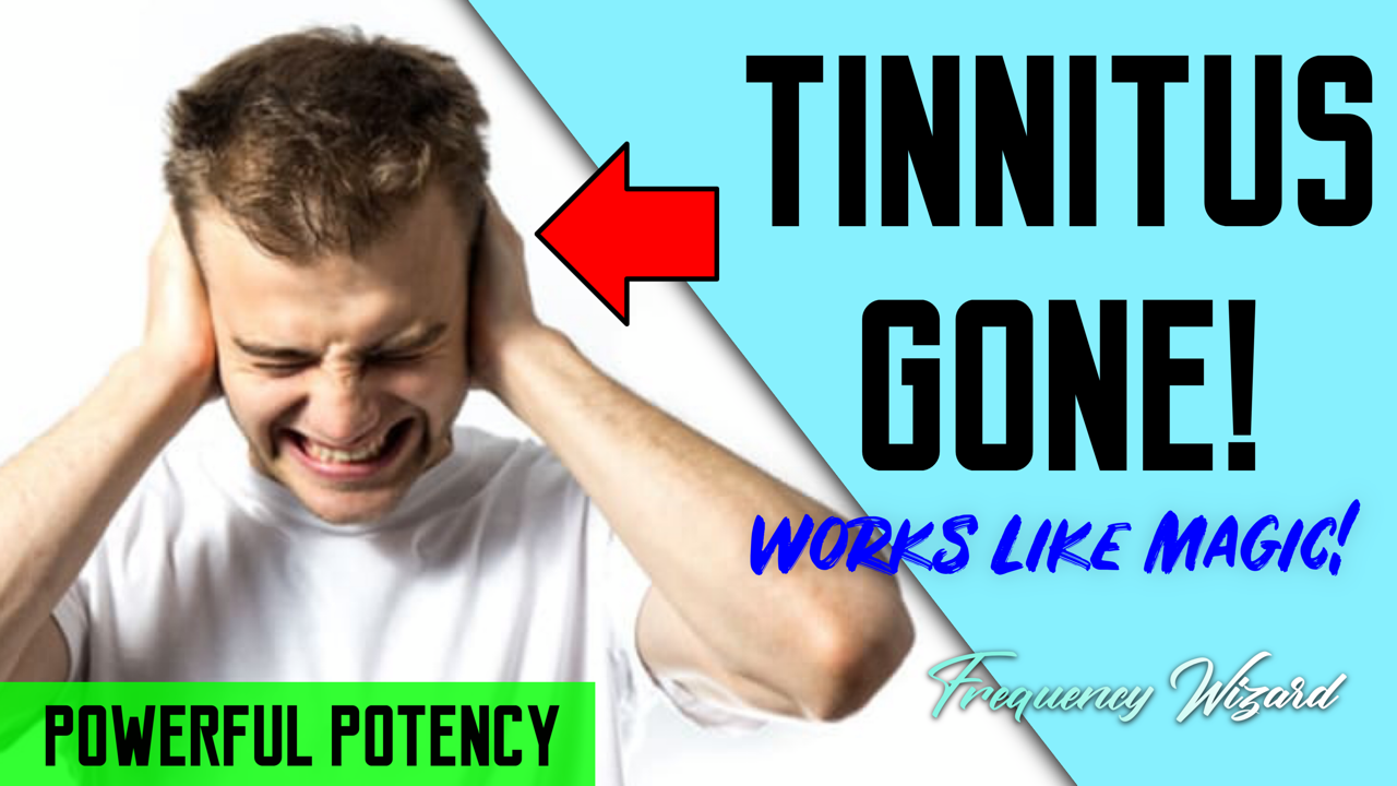THE BEST TINNITUS HEALING FORMULA! WORKS LIKE MAGIC! FREQUENCY WIZARD