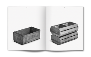 Collection Typologie - La cagette en peuplier / The wooden crate