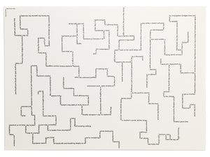 Jacob Bromberg - A Maze without Walls (Poster)