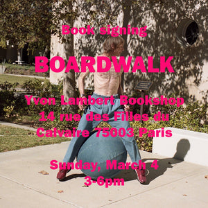 "Max Farago ""Boardwalk"" launch & signing"