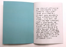 Load image into Gallery viewer, Nathalie du Pasquier - Manifesto pour les filles du calvaire (limited edition booklet)