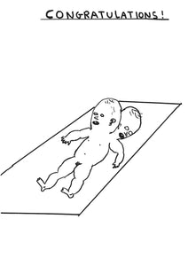 David Shrigley - Original drawings