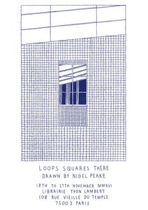 Loops, Squares and There Drawn by Nigel Peake