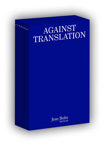 Kenneth Goldsmith - Against Translation