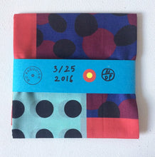 Load image into Gallery viewer, Nathalie du Pasquier - Cotton scarf (2)