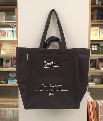 Yvon Lambert tote bag - Large grey