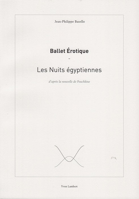 Jean-Philippe Basello - Les Nuits égyptiennes
