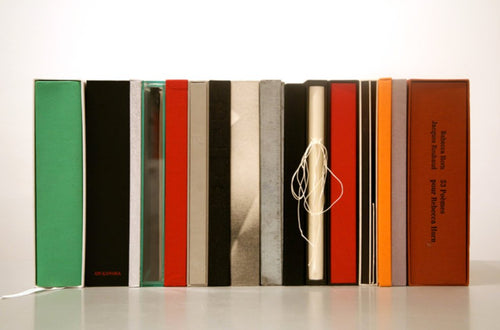 ARTISTS BOOKS EDITIONS : Publications by Yvon Lambert and Hans Werner Holzwarth at Galerie Max Hetzler in Berlin