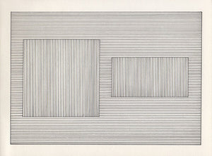 Sol Lewitt - Six geometric figures and all their double combinations