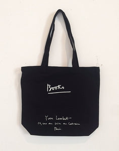 Yvon Lambert Tote Bag - Black