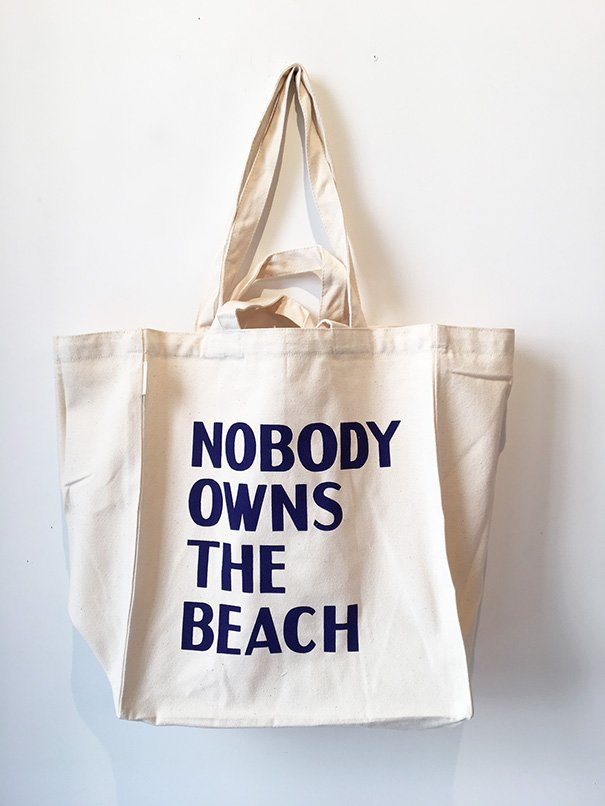 David Horvitz - Nobody Owns the Beach (Bag)