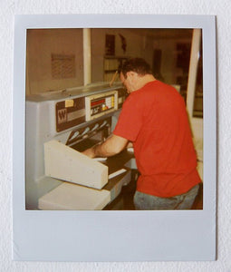 Jonathan Monk - The making of Ten Posters...limited edition with signed polaroid (8)