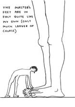 Load image into Gallery viewer, David Shrigley - Original drawings