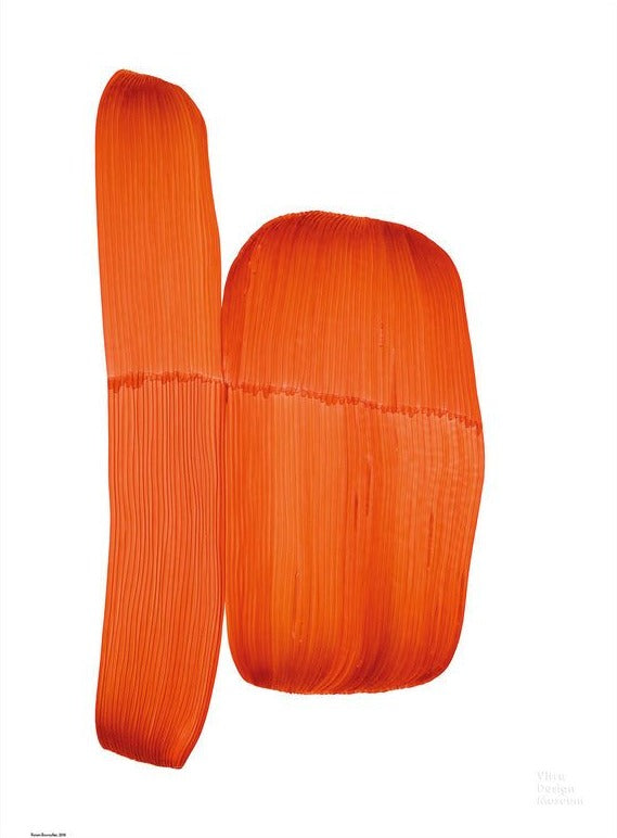 Ronan Bouroullec - Drawing, Orange 2018