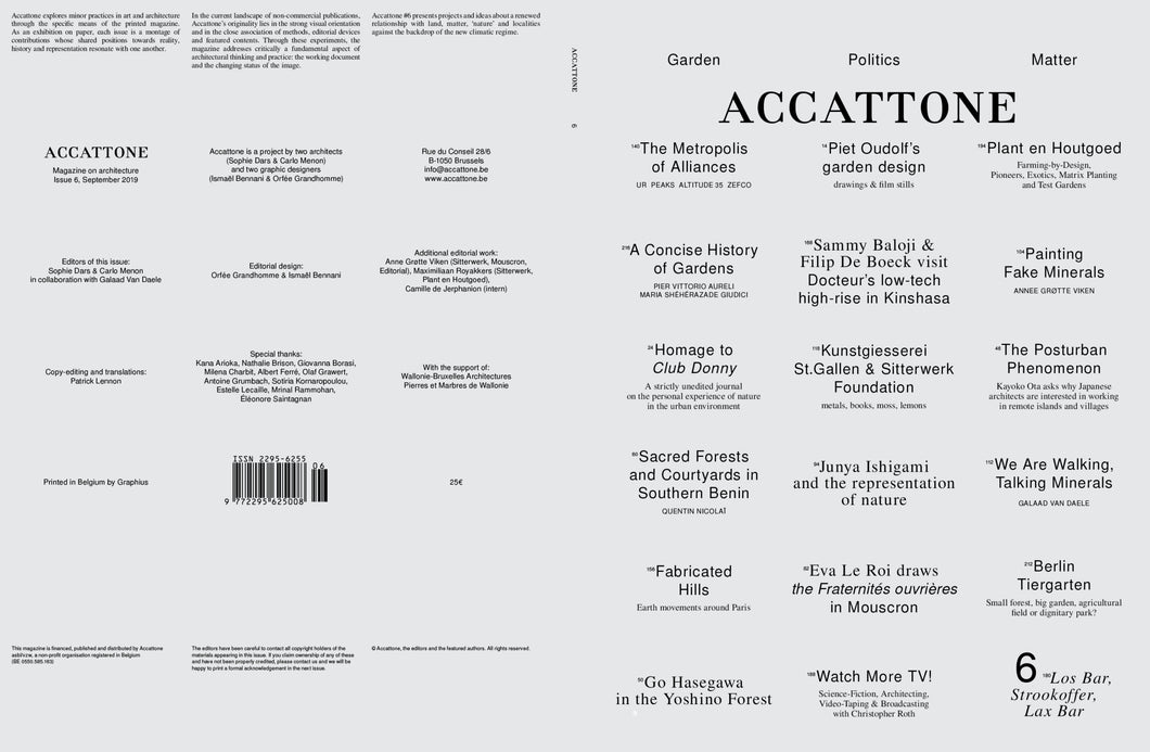 Accattone - Issue 6
