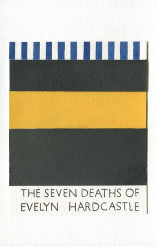 Nigel Peake - Une Bibliothèque (Stuart Turson - The Seven Deaths of Evelyn Hardcastle)