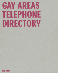 Matt Connors - Gay Areas Telephone Directory