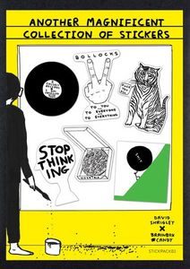 David Shrigley - stickers packs