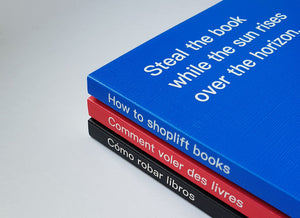 David Horvitz - Comment voler des livres / How to shoplift books