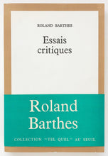 Load image into Gallery viewer, Roland Barthes - Essais critiques
