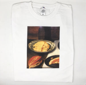"Xinyi Cheng x Lundi ""Still life with ham"" T-shirt"