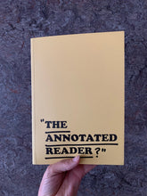 Load image into Gallery viewer, Ryan Gander & Jonathan P. Watts - THE ANNOTATED READER