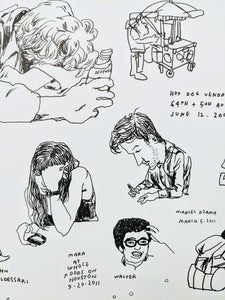 Jason Polan - Every Person in New York vol.1 + vol.2 (Poster)