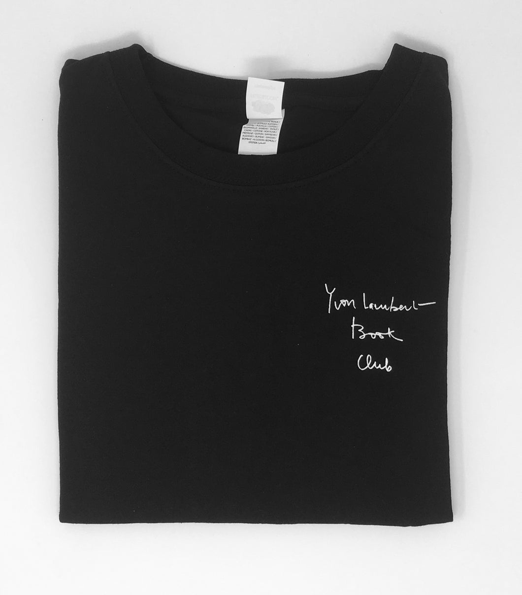 Yvon Lambert Book Club t-shirt (black)