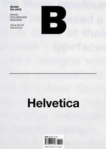 Magazine B Issue #35 : HELVETICA