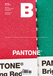 Magazine B Issue #46 : PANTONE