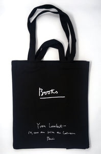 Yvon Lambert Large Tote Bag Black