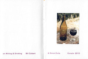 Bill Culbert & Simon Cutts - Some more notes on writing & drinking