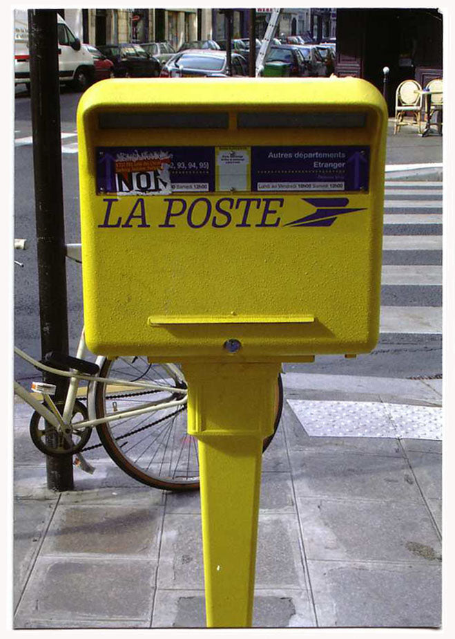 Jonathan Monk - Picture Post Card Posted from Post Box Pictured (Paris)