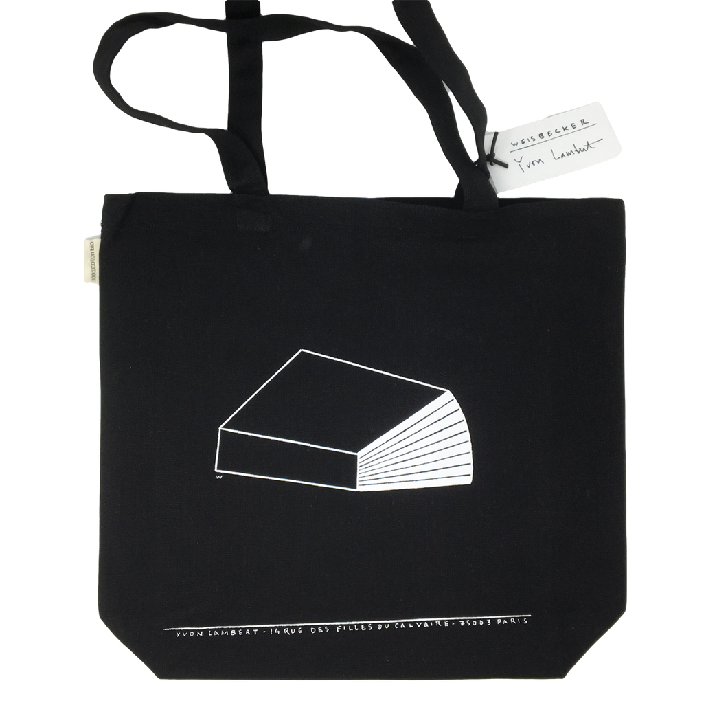 Philippe Weisbecker / Yvon Lambert Tote Bag - Black