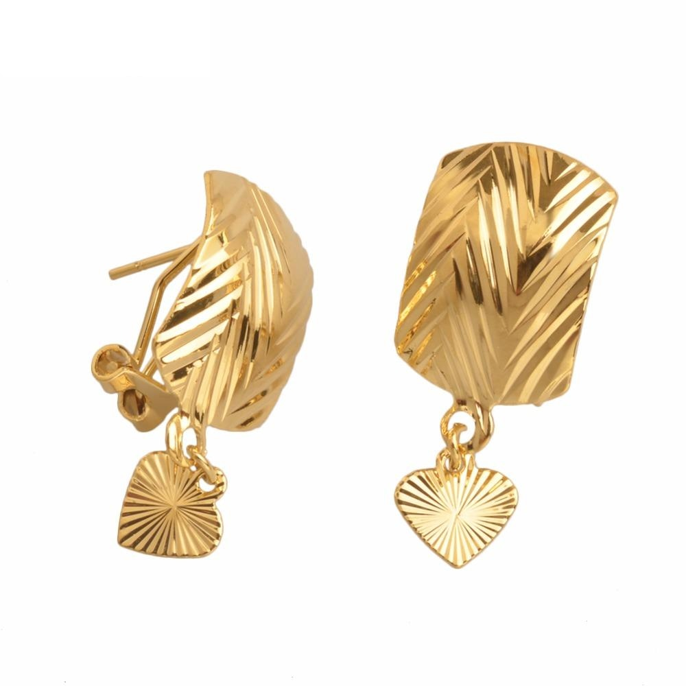 Heart Earring With Clip
