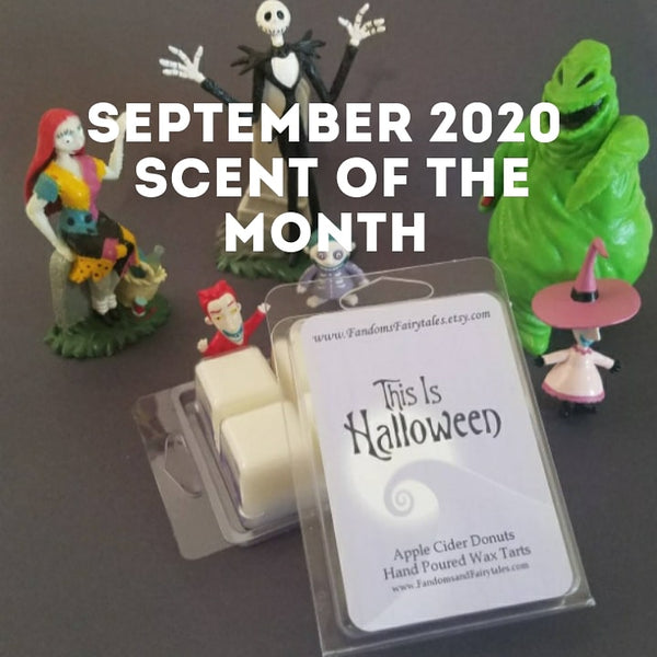 September 2020 Scent of the Month and new fandom scents!