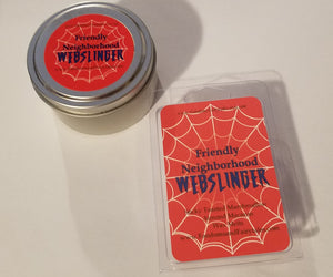 Friendly Neighborhood Webslinger Wax Melts and Candles