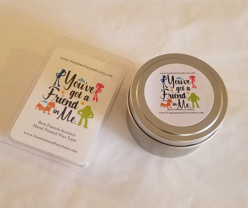 You've Got A Friend In Me Wax Melts and Candles