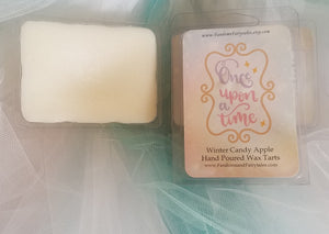 Once Upon a Time Wax Melts and Candles Winter Candy Apple Scented