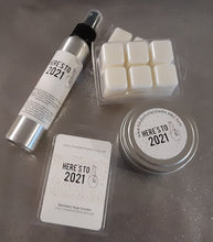 Load image into Gallery viewer, Fingers Crossed, Here's to 2021! Blackberry Sage Wax Melts, Candles or Room Spray